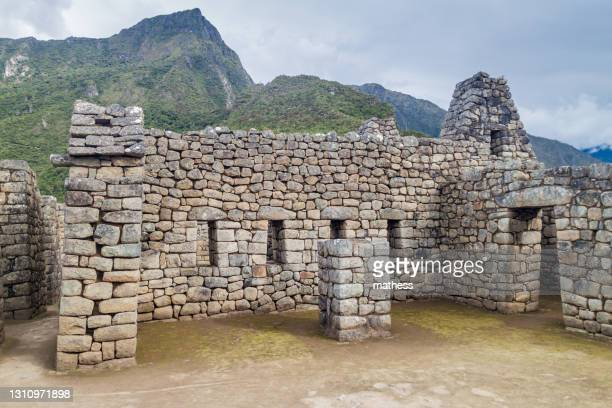 house three doorways at machu picchu