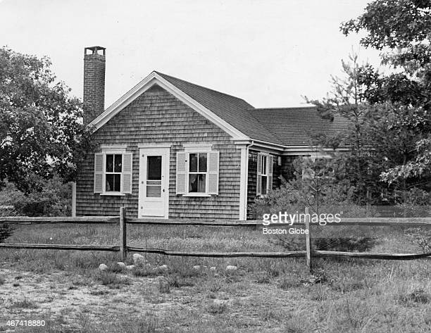 House on Chappaquiddick Island Martha's Vineyard where party was held Ted Kennedy attended party before nearly fatal accident