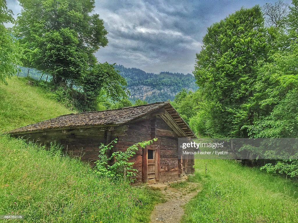 House On Countryside Landscape Stock Photo | Getty Images for Countryside Landscape With House  55nar