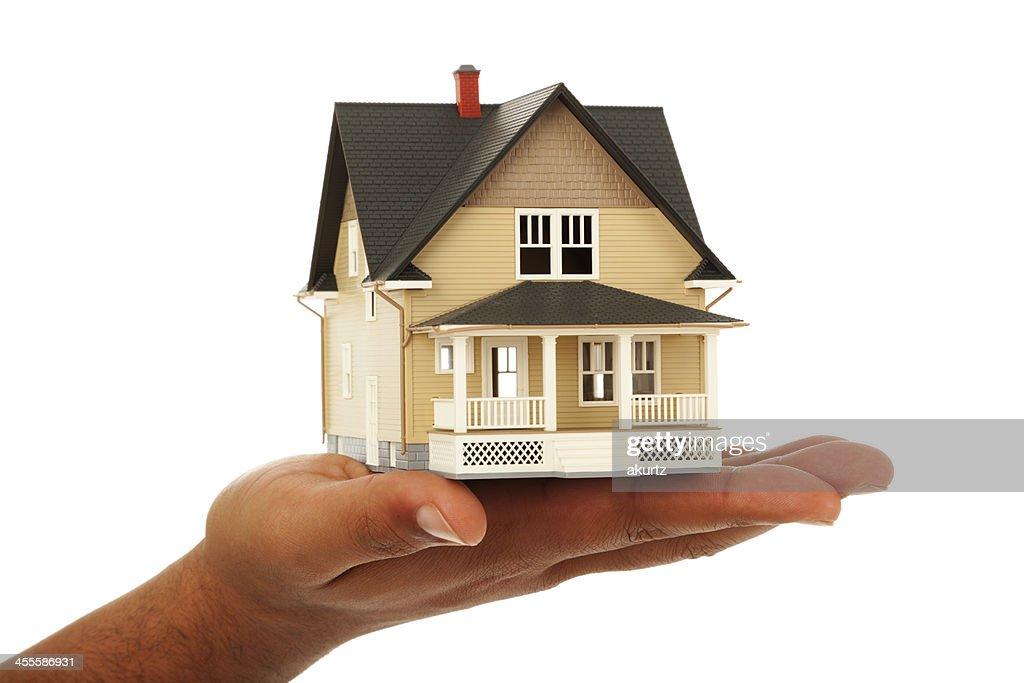 Maison à la main : Photo