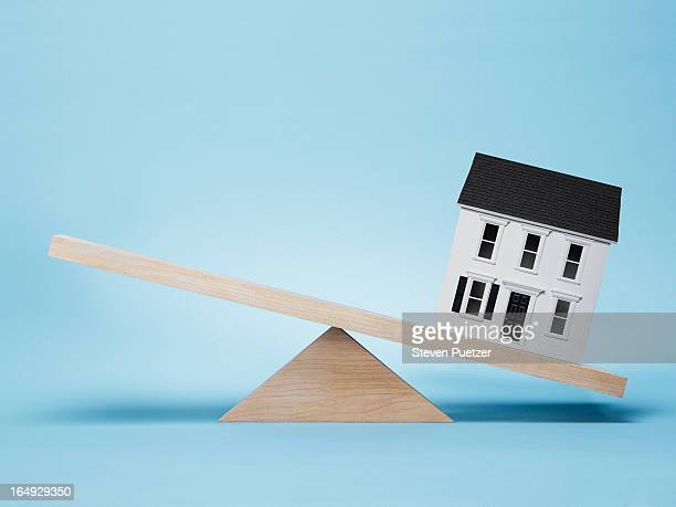 House on seesaw