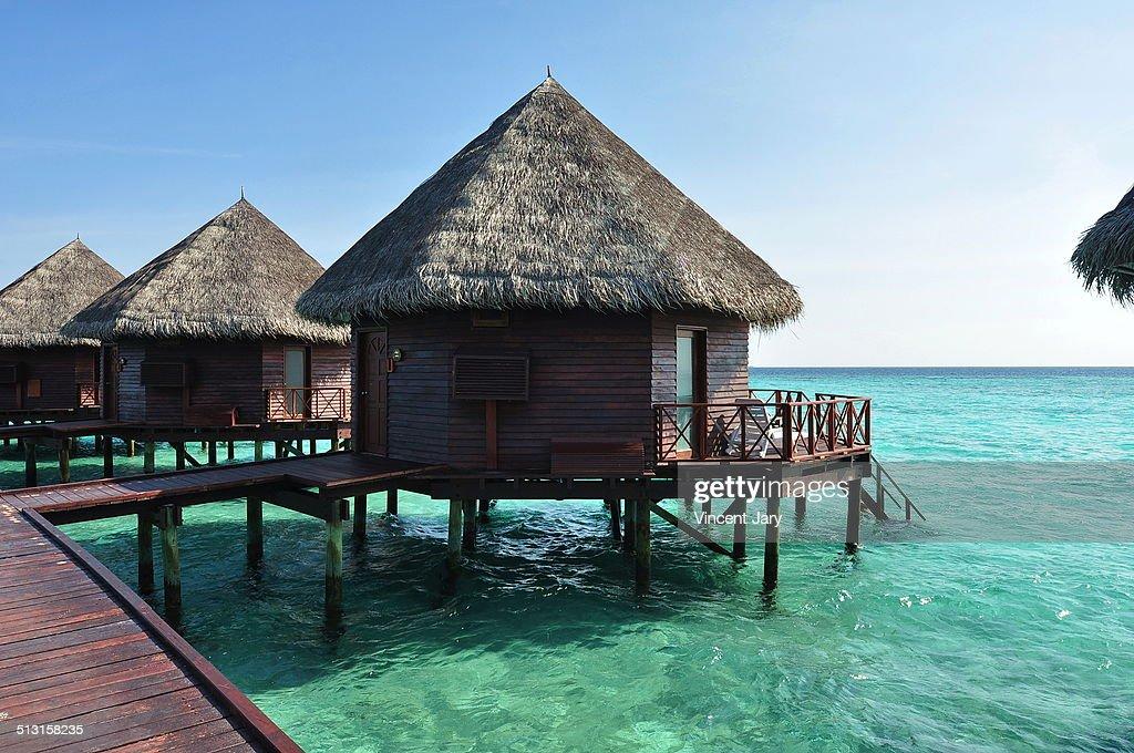 House on stilts maldives : Photo