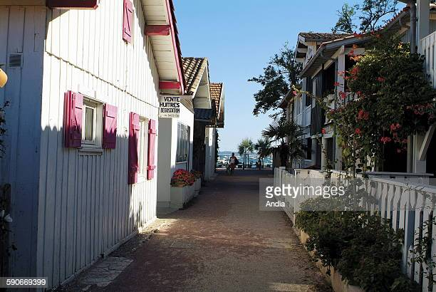 Arcachon Bay Lane Stock Pictures Royalty Free Photos Images
