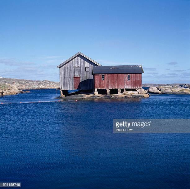 House on west coast, Sweden