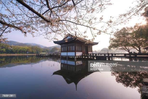 'House on West Lake, Hangzhou, Zhejiang, China'