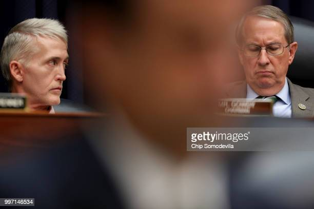 House Oversight and Government Reform Committee Chairman Trey Gowdy and House Judiciary Committee Chairman Bob Goodlatte lead a joint hearing of...