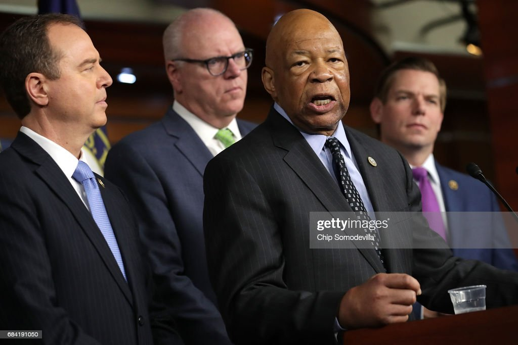 House Democrats Speak To Press After Weekly Caucus Meeting : News Photo