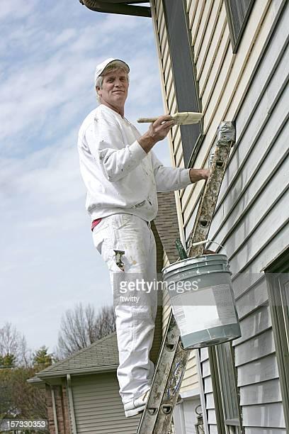 House Painter Blick in die Kamera