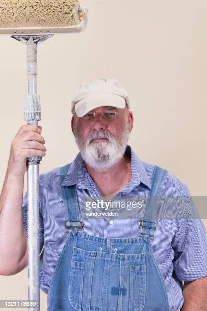 house painter - short sleeved stock pictures, royalty-free photos & images