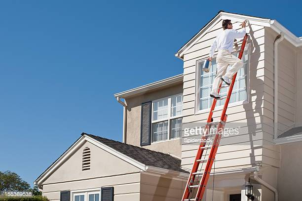House Painter With Paint Brush
