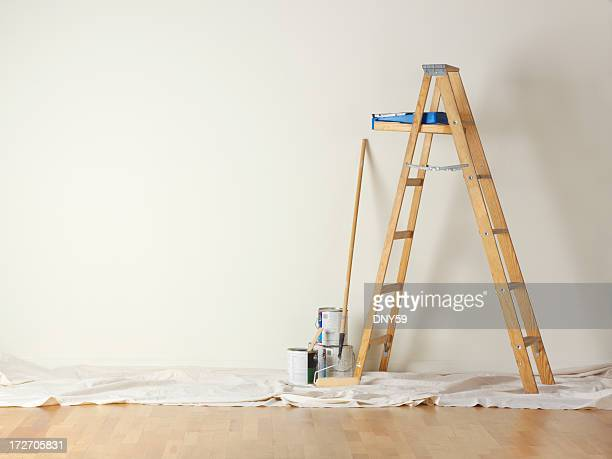house painting - home improvement stock pictures, royalty-free photos & images