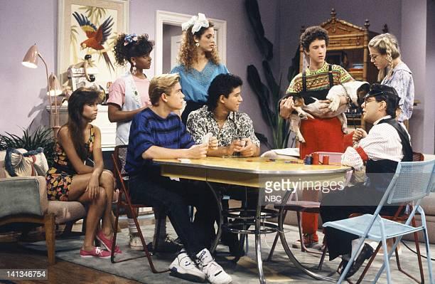 BELL House Party Episode 5 Air Date Pictured Tiffani Thiessen as Kelly Kapowski Lark Voorhies as Lisa Turtle MarkPaul Gosselaar as Zack Morris...
