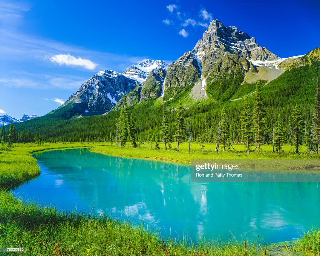 House Peak in Banff Natonal Park, CN : Stock Photo