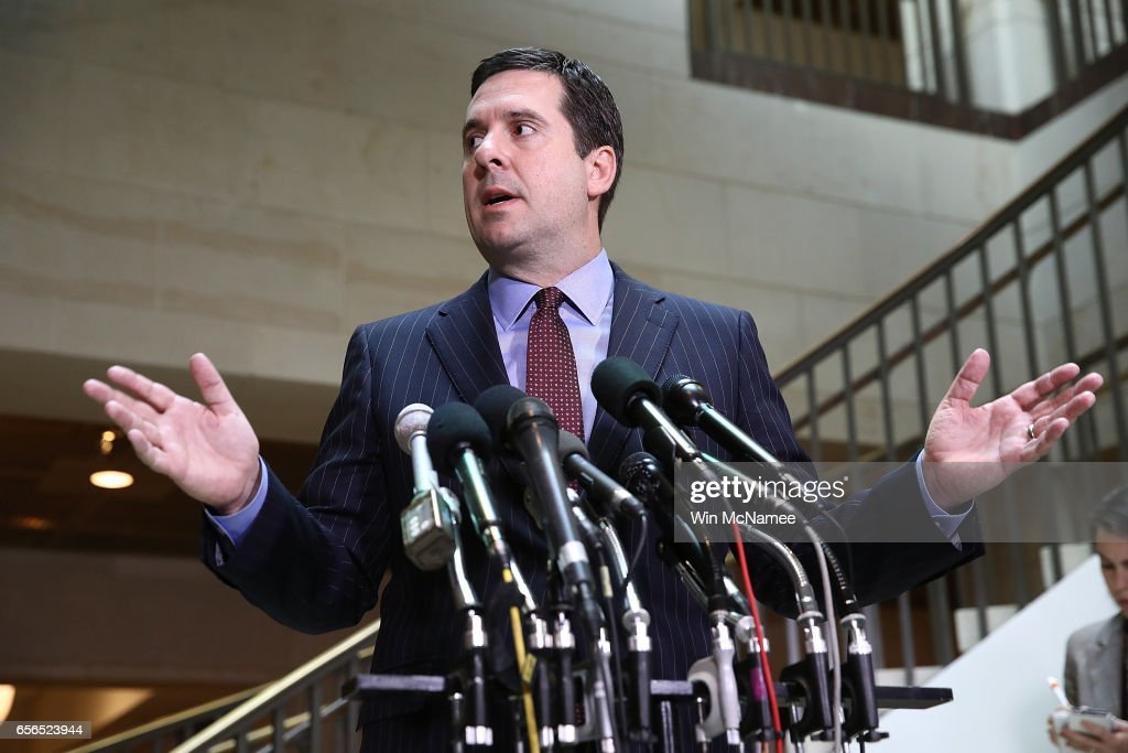 Rep. Devin Nunes Briefs Press On House Intelligence Cmte Russia Investigation