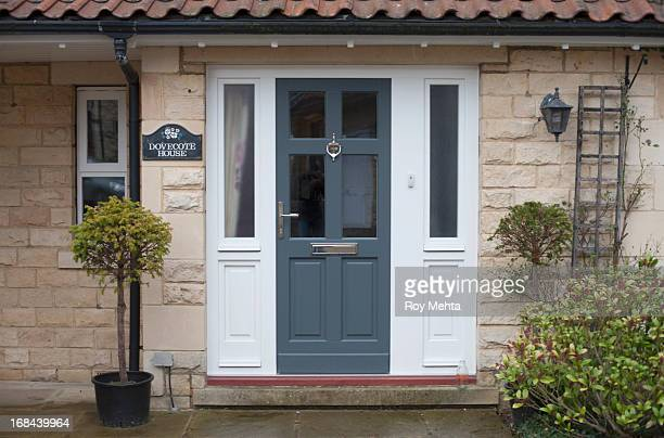 house - front door stock pictures, royalty-free photos & images