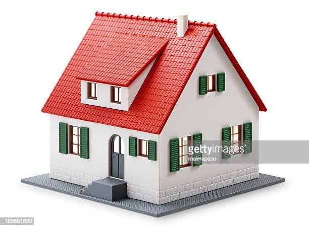 house - three dimensional stock pictures, royalty-free photos & images