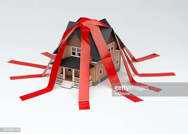 house red tape - bureaucracy stock pictures, royalty-free photos & images