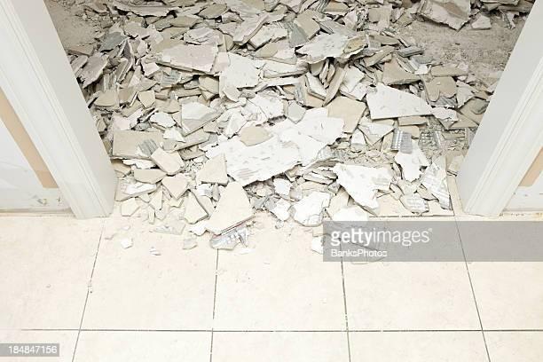 House Remodeling Marble Tile Demolition
