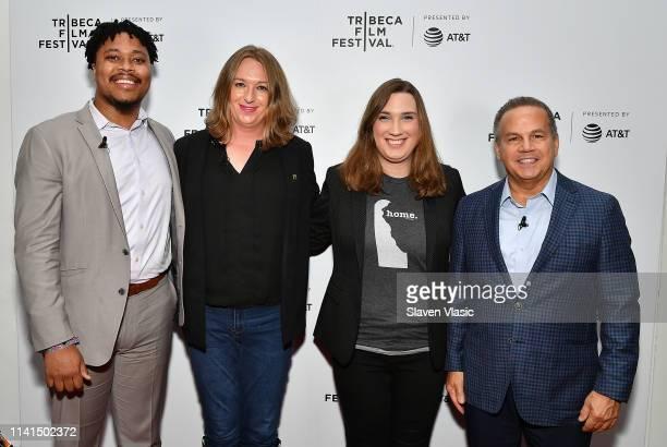 House Rep Malcolm Kenyatta Allison VanKuiken Sarah McBride and House Rep David Cicilline attend Tribeca Celebrates Pride Day at 2019 Tribeca Film...