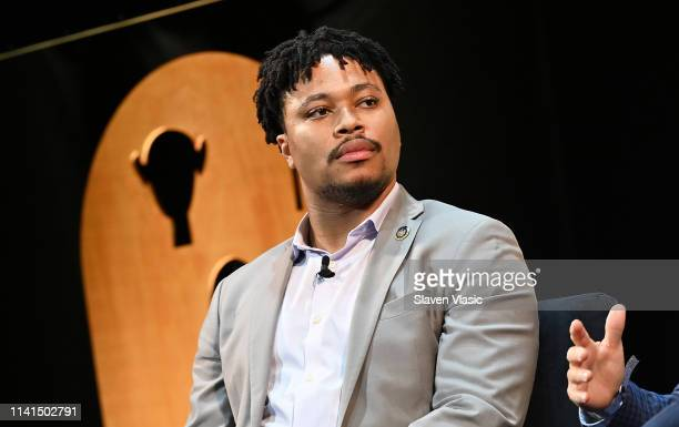 House Rep Malcolm Kenyatta attends Out in Office panel at Tribeca Celebrates Pride Day at 2019 Tribeca Film Festival at Spring Studio on May 4 2019...