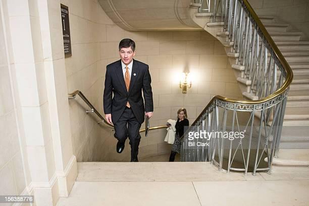 House Republican Conference Chairman Jeb Hensarling RTexas arrives for the House GOP leadership elections in the Longworth House Office Building on...