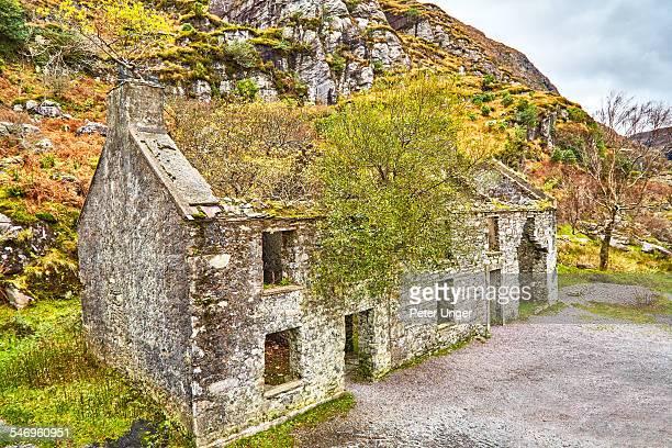 House ruins at Gap of Dunloe, Ireland