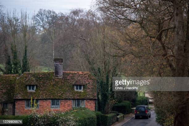 House sits on the Kent border next to a small road bridge over the River Groom which divides the village into two counties, with differing tier...
