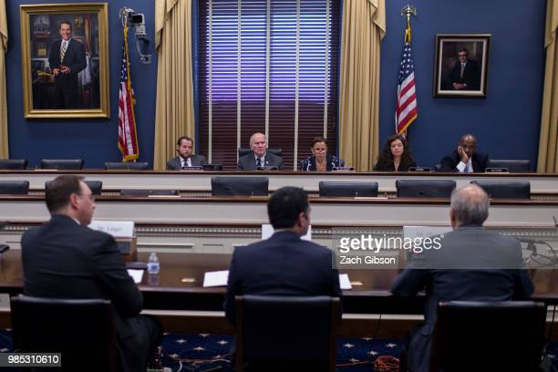 House Small Business Committee Chairman Steve Chabot and House Small Business Committee Ranking Member Nydia Velázquez preside as TechSolve Inc...