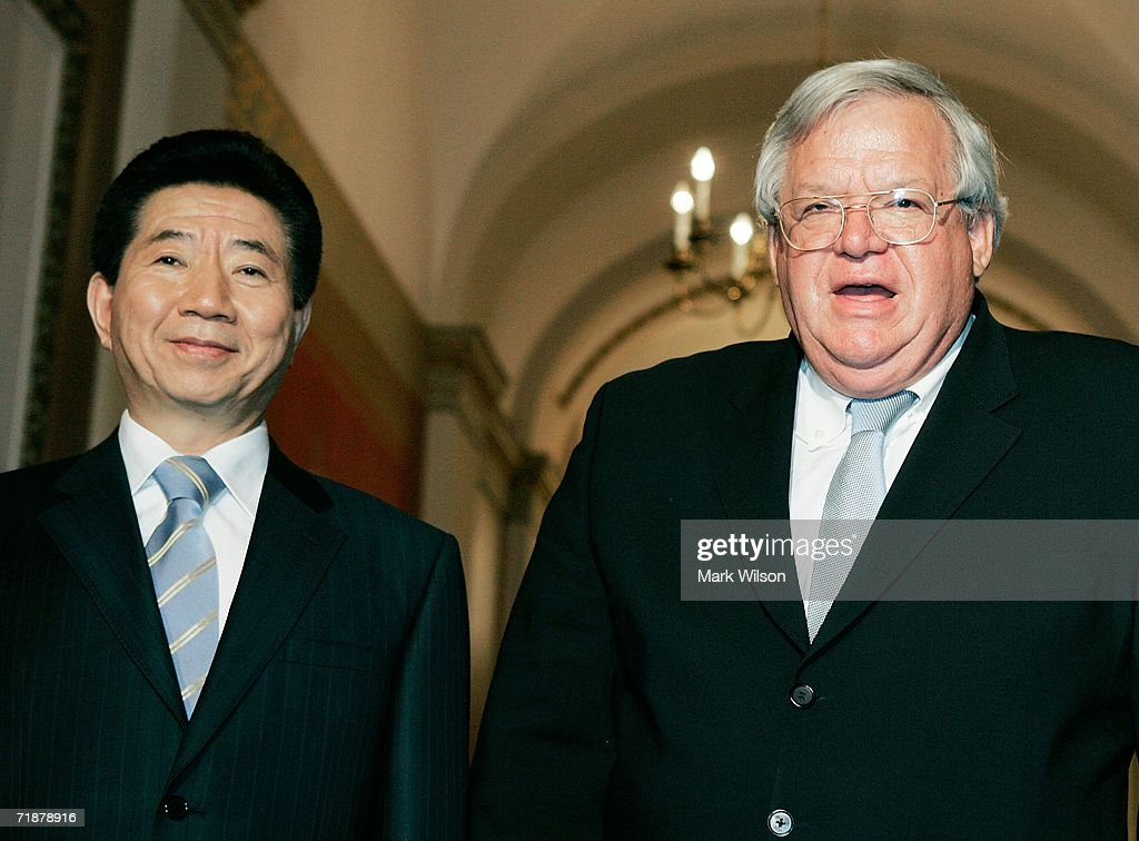 Hastert Meets With South Korean President Roh Moo-hyun