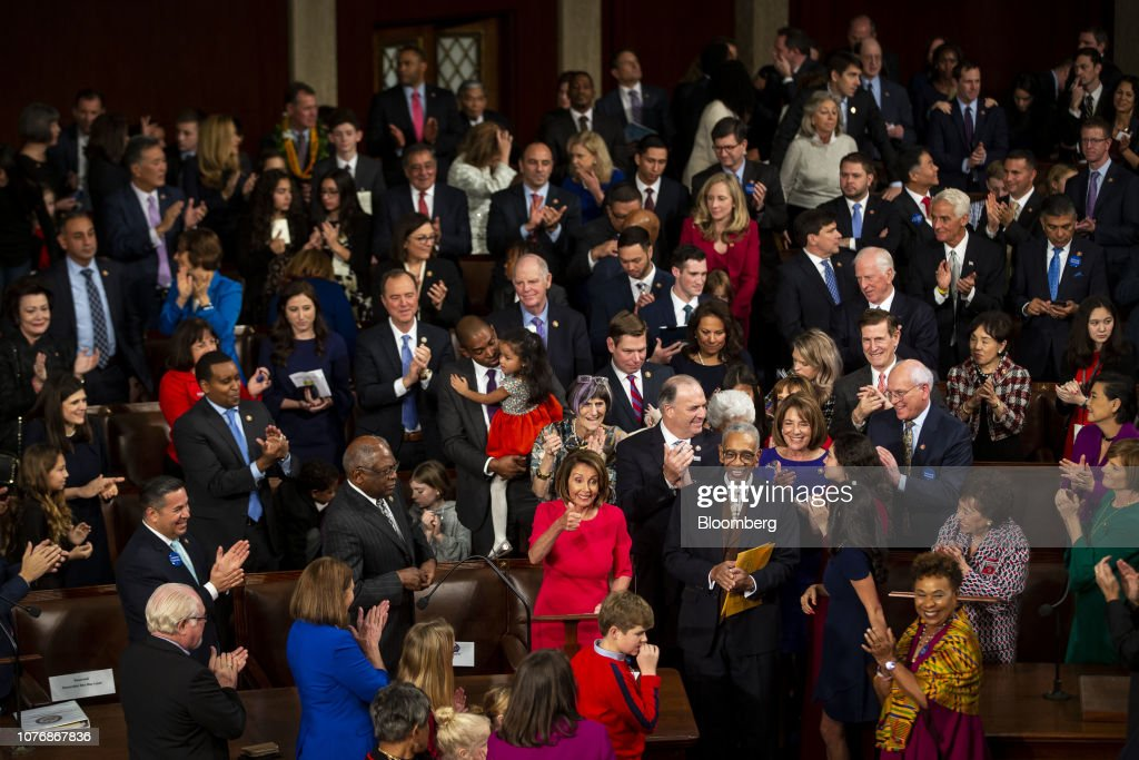 Opening Day Of The 116th Congress : News Photo