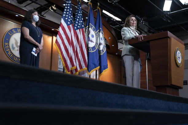 DC: House Speaker Pelosi Holds News Conference On Testing Plan In Heroes Act