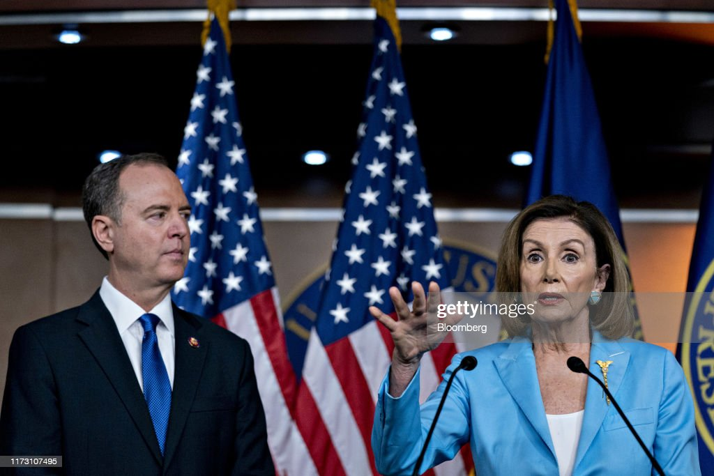 House Speaker Nancy Pelosi Holds Weekly News Conference : News Photo