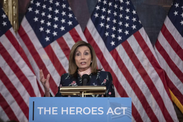 DC: House Speaker Pelosi Holds Event On Need For Senate To Take Up Heroes Act