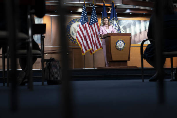 DC: House Speaker Pelosi Holds Weekly News Conference