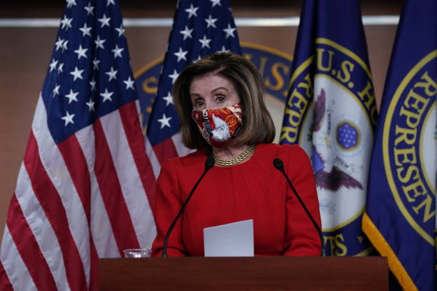 DC: House Speaker Nancy Pelosi Holds Weekly News Conference