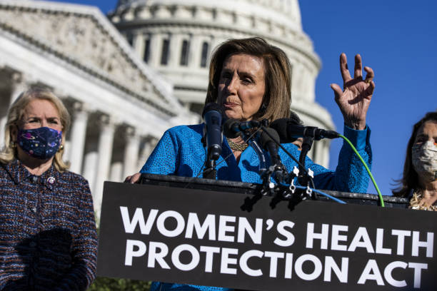 DC: House Speaker Pelosi Holds News Conference On Women's Health Protection Act