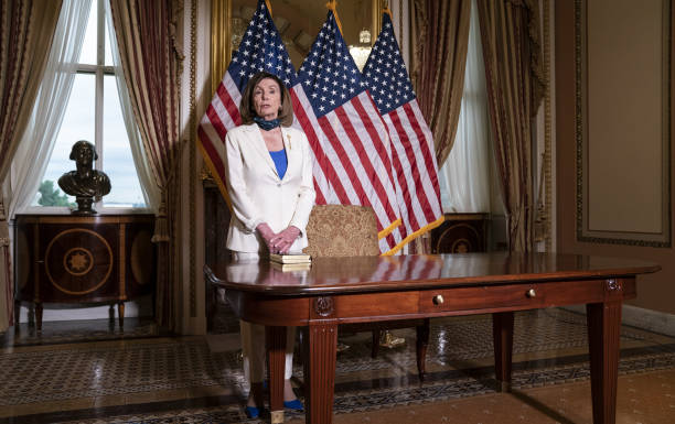 DC: House Speaker Pelosi Holds Bill Enrollment Ceremony For Uyghur Human Rights Policy Act