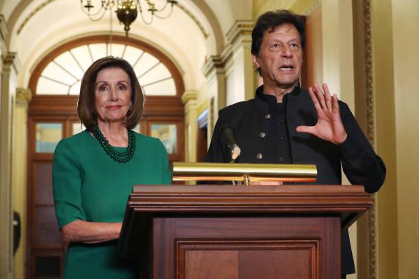 DC: Speaker Nancy Pelosi Meets With Pakistan's Prime Minister Imran Khan