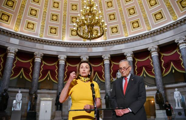 DC: Negotiations Over Second Coronavirus Relief Bill Continue On The Hill