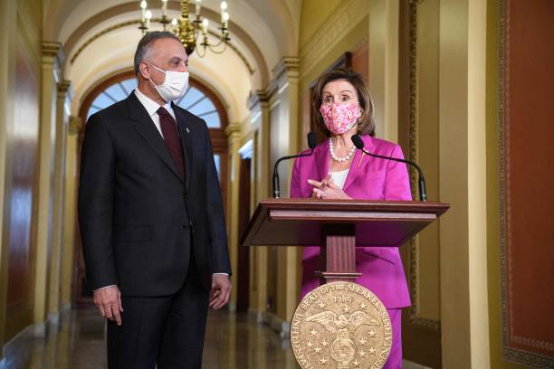 DC: Speaker Pelosi Meets With Iraqi Prime Minister On Capitol Hill