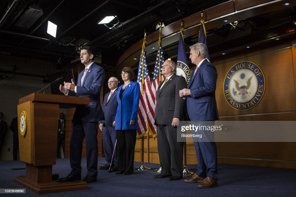 House Speaker Ryan Holds News Conference After Weekly Meeting : News Photo