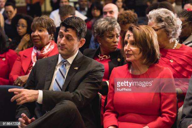House Speaker Paul Ryan and Democratic minority leader Nancy Pelosi were in attendance at the Commemoration of the Bicentennial of the Birth of...