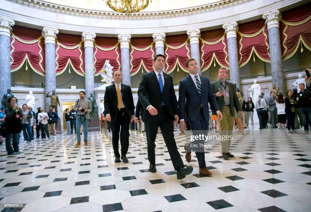 House Members Vote On Health Care Bill : News Photo