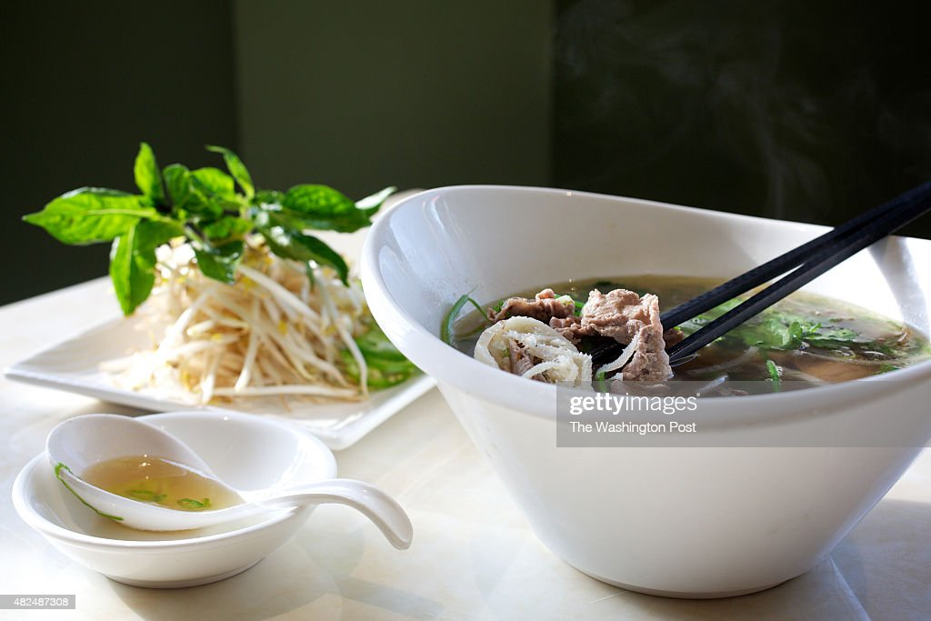 Wheaton Md House Special Pho With Slides Of Well Done Brisket News Photo Getty Images