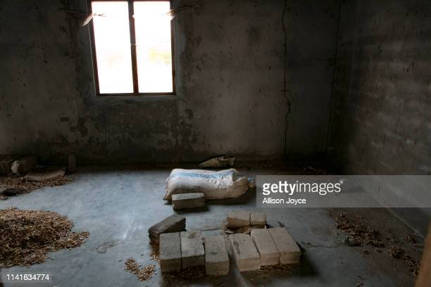 A house that was found to have bomb making material inside it is seen on May 6 2019 in Omadiyamadu Sri Lanka Sri Lankan police released the names all...