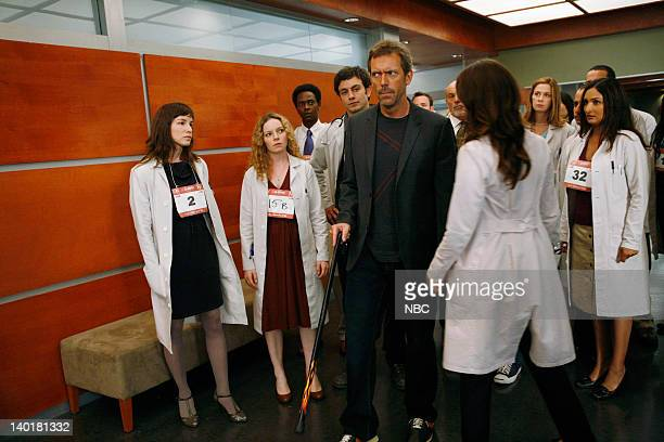 House The Right Stuff Episode 2 Pictured Heather Fox as Dr Ashka Caitlin Dahl as Twin 1 15A Edi Gathegi as Dr Jeffrey Cole Heather Fox as Dr Ashka...