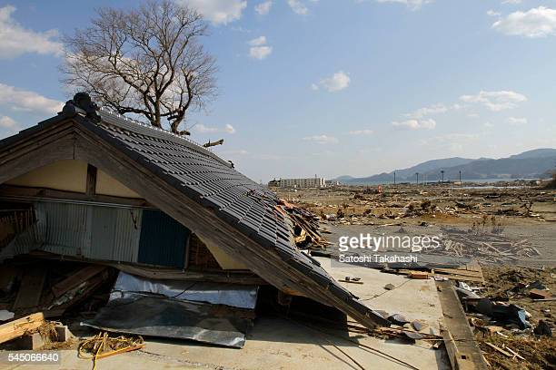 House was destroyed by the earthquake and tsunami that hit northeastern Japan on March 11, 2011.
