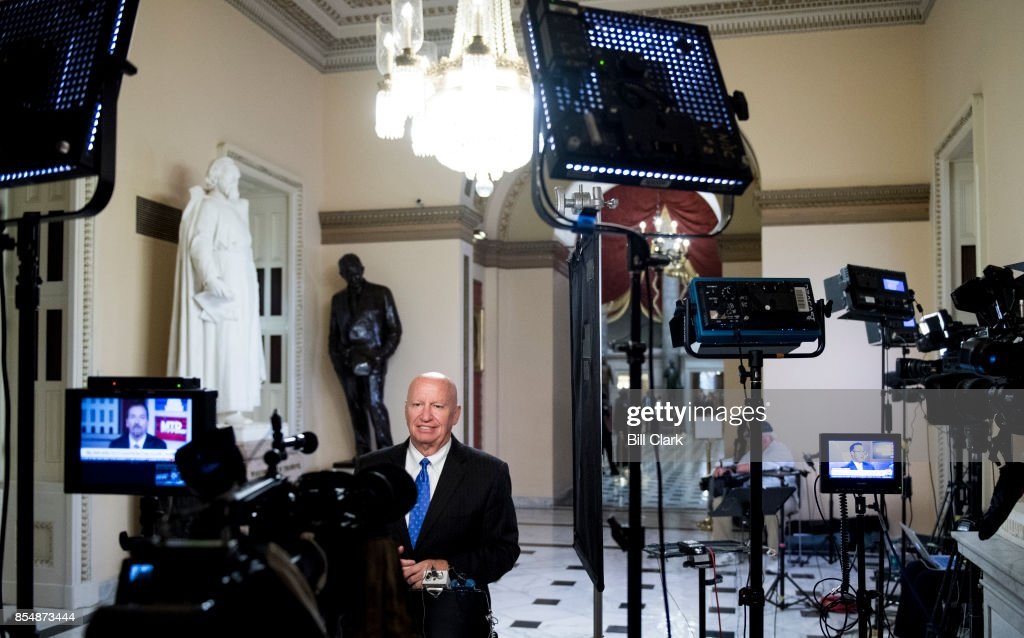 House Ways and Means chairman Kevin Brady... : News Photo