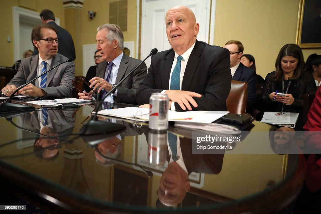 House Rules Cmte Meets To Craft Tax Bill Conference Report