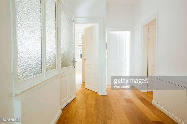house with empty rooms and open doors - ajar stock pictures, royalty-free photos & images
